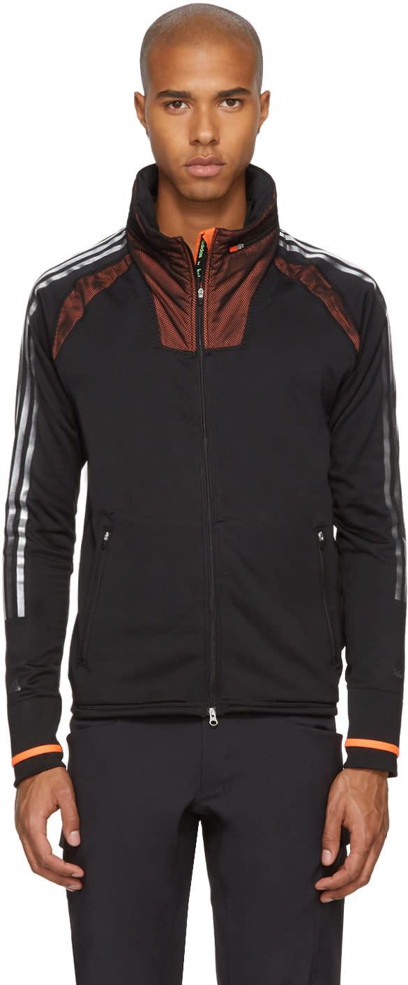 Image of Adidas X Kolor Black Climaheat Zip Hoodie