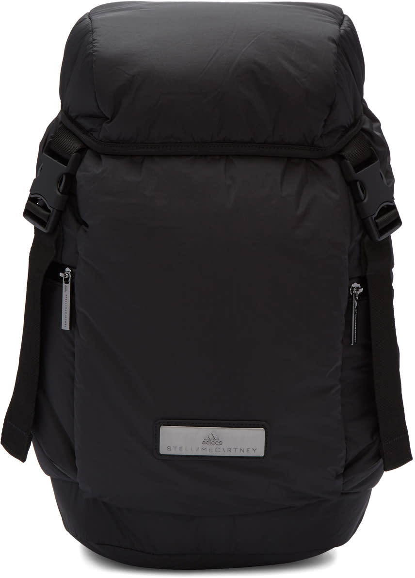 Image of Adidas By Stella Mccartney Black L Pad Backpack
