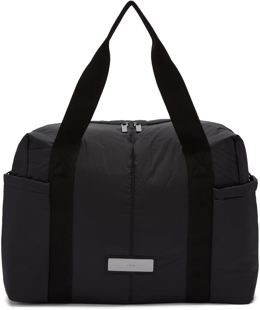 Image of Adidas By Stella Mccartney Black Shipshape Duffle Bag