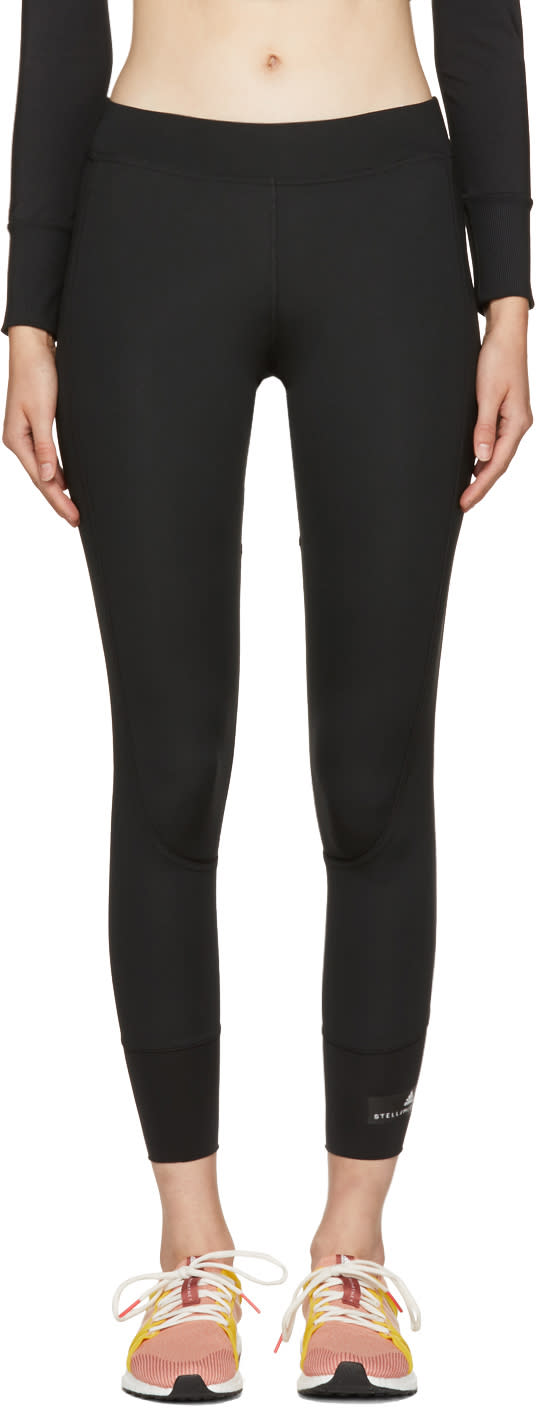 Image of Adidas By Stella Mccartney Black the Performance 7-8 Leggings