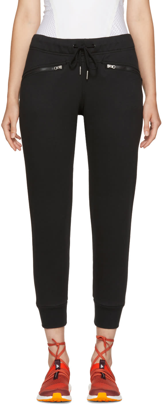 Image of Adidas By Stella Mccartney Black Essentials Lounge Pants