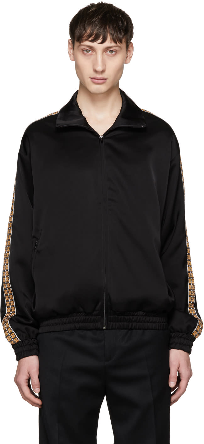 Image of Cmmn Swdn Black Bret Track Jacket