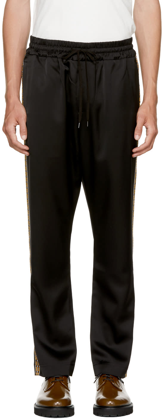 Image of Cmmn Swdn Black Buck Tracksuit Trousers