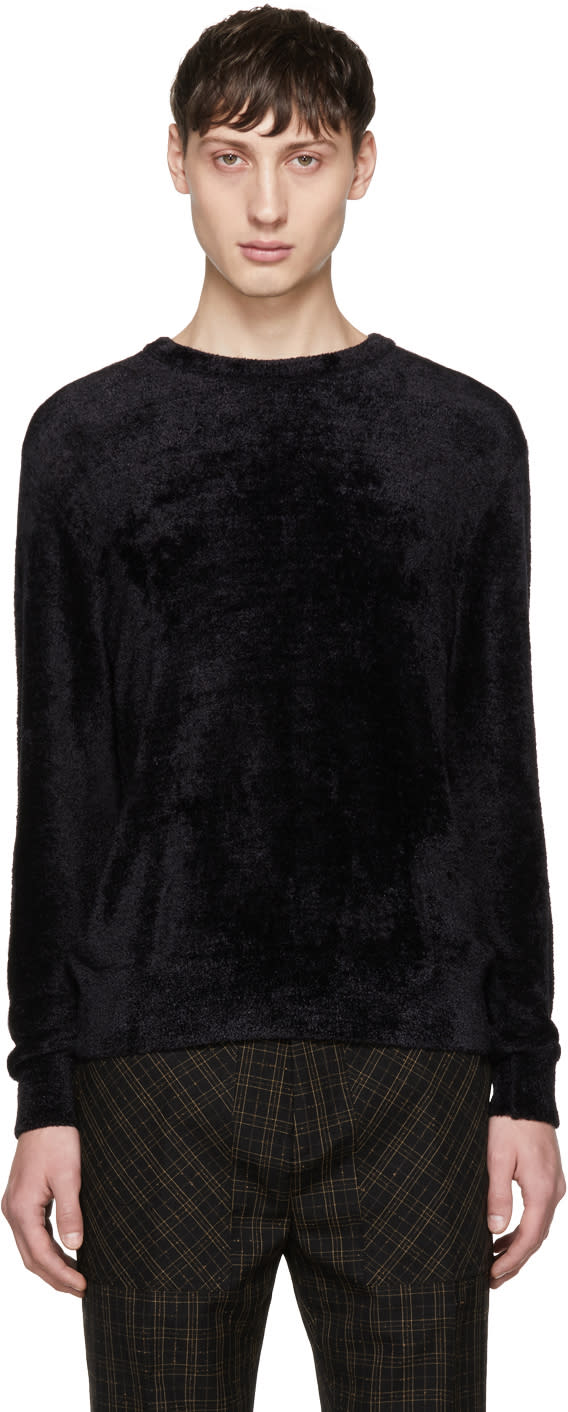 Image of Cmmn Swdn Black Colby Sweater