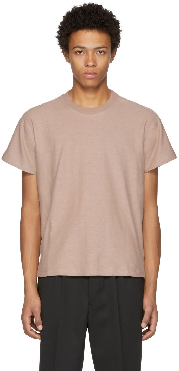 Image of Fanmail Beige Boxy T-shirt