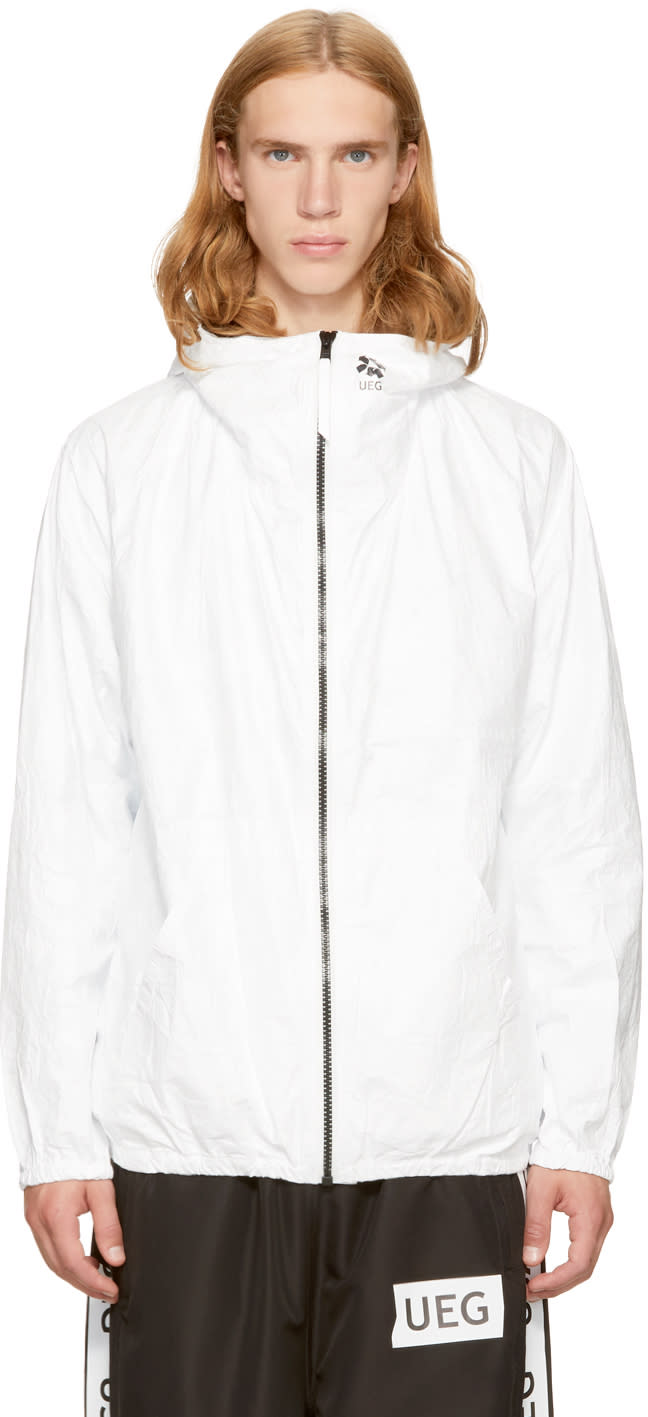 Image of Ueg White freedom Jacket