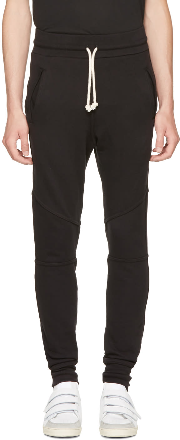 Image of John Elliott Black Escobar Lounge Pants