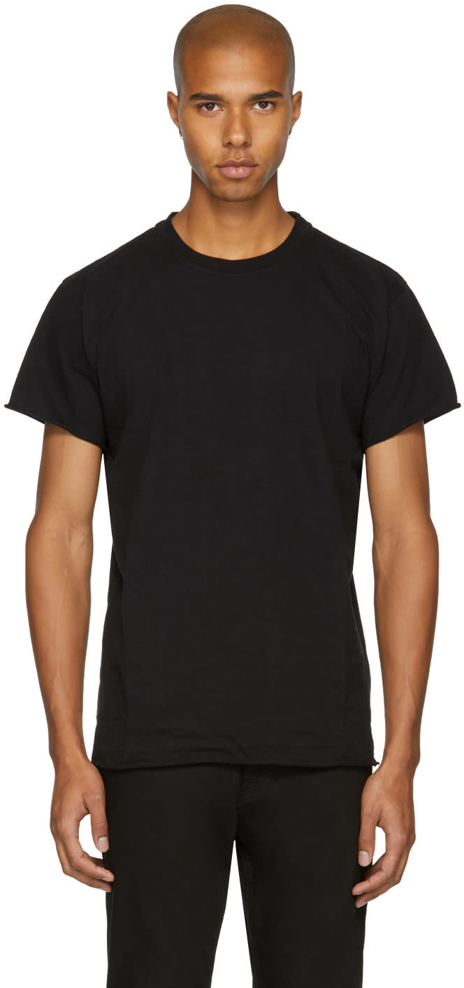 Image of John Elliott Black Anti-expo T-shirt