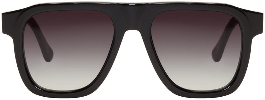 Image of Tom Wood Black Sam Sunglasses