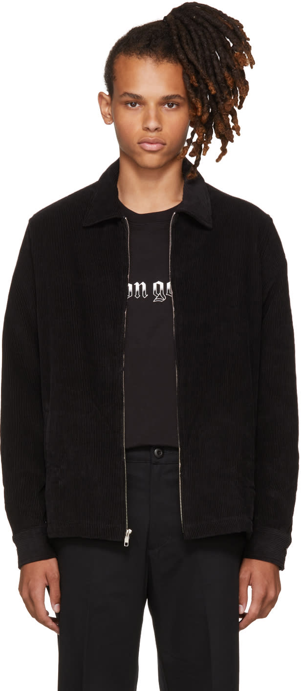 Image of Noon Goons Black Corduroy Club Jacket