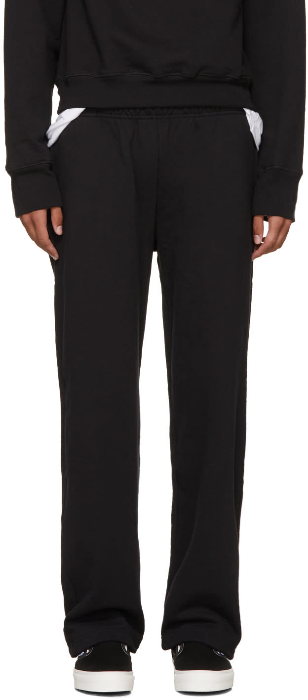 Image of Noon Goons Black Icon Lounge Pants