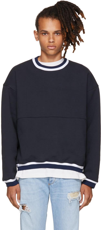 Image of Noon Goons Navy Gymnasium Sweatshirt