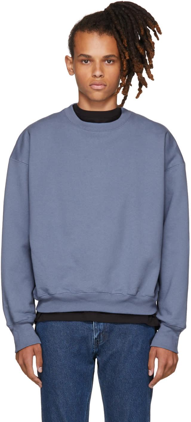 Image of Noon Goons Blue Icon Sweatshirt