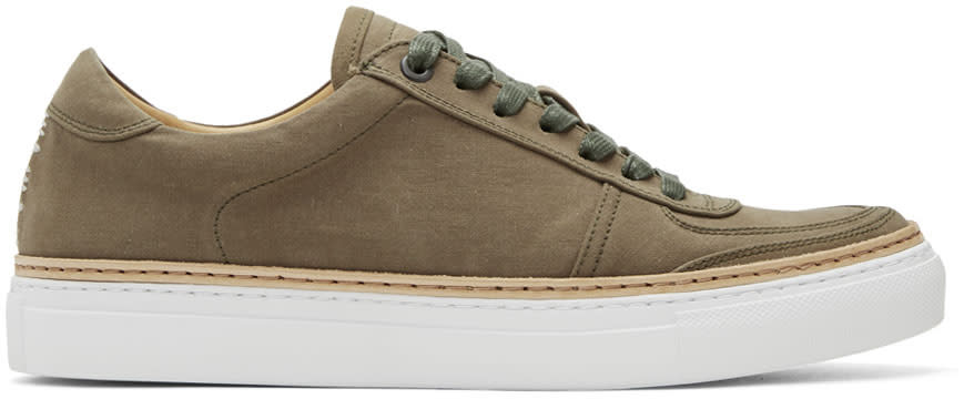 Image of No.288 Khaki Grand Sneakers