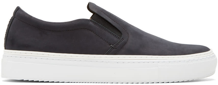 Image of No.288 Black Houston Slip-on Sneakers