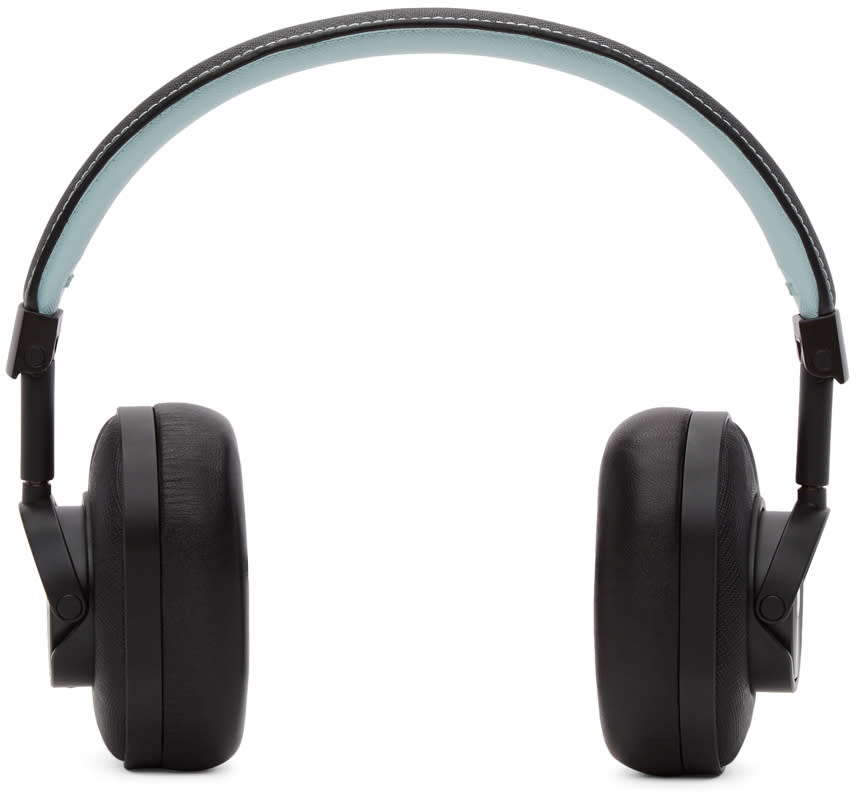 Image of Master and Dynamic Black and Blue Bamford Watch Department Edition Wireless Mw60 Headphones