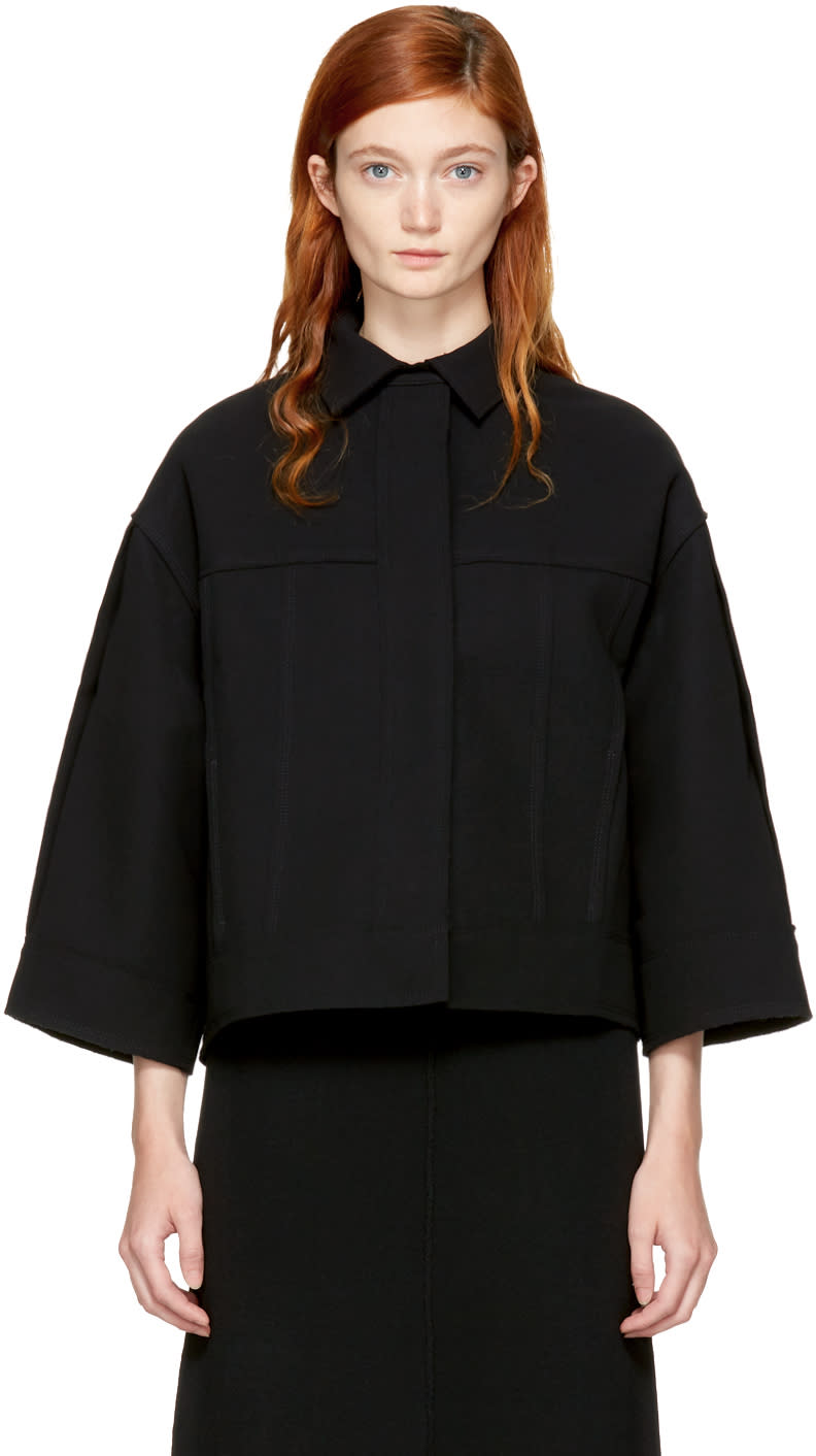 Image of Totême Black Bari Jacket