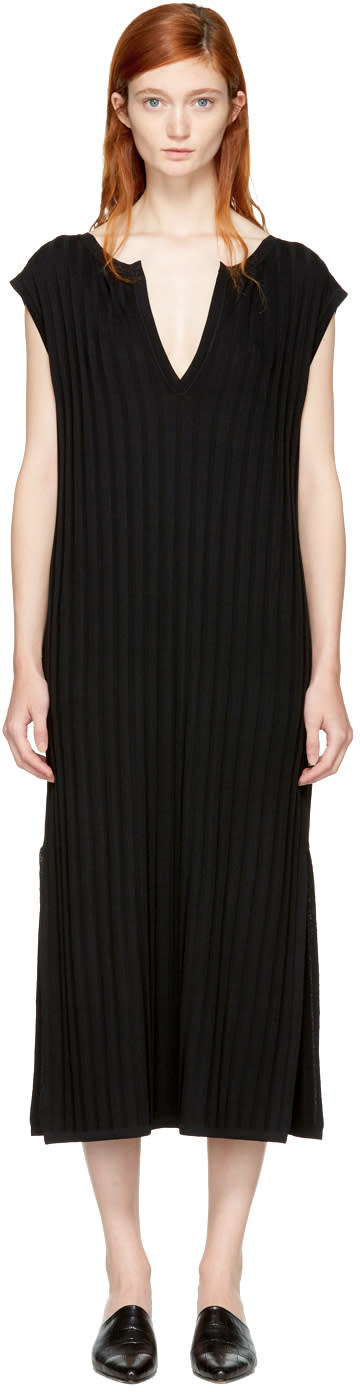 Image of Totême Black Bahia Dress
