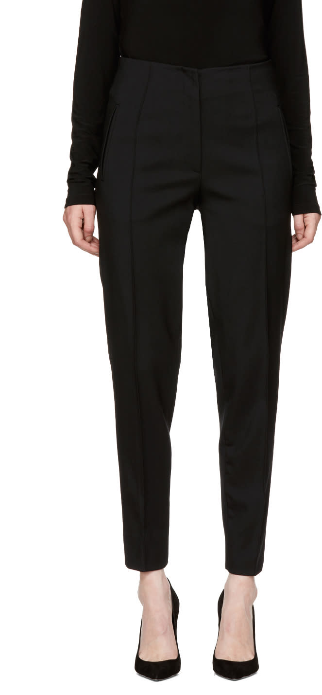 Image of Protagonist Black 40 Classic Cigarette Trousers