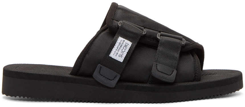 Image of Suicoke Black Kaw Sandals