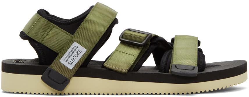c5dfe8970e Suicoke Green Kisee v Sandals