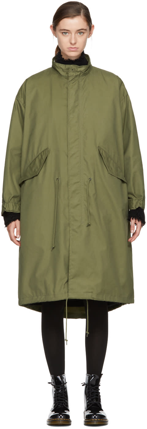 Image of Hyke Green M-65 Type Field Coat