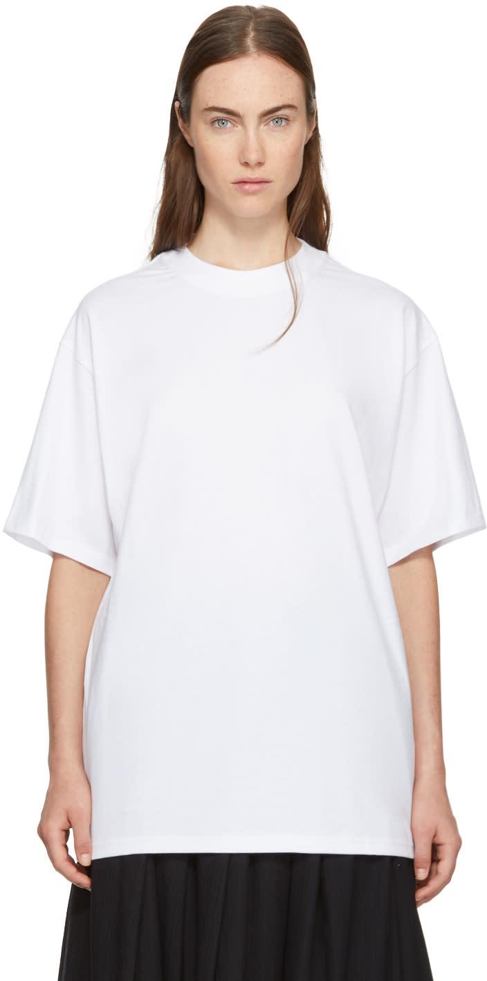 Image of Hyke White Big T-shirt