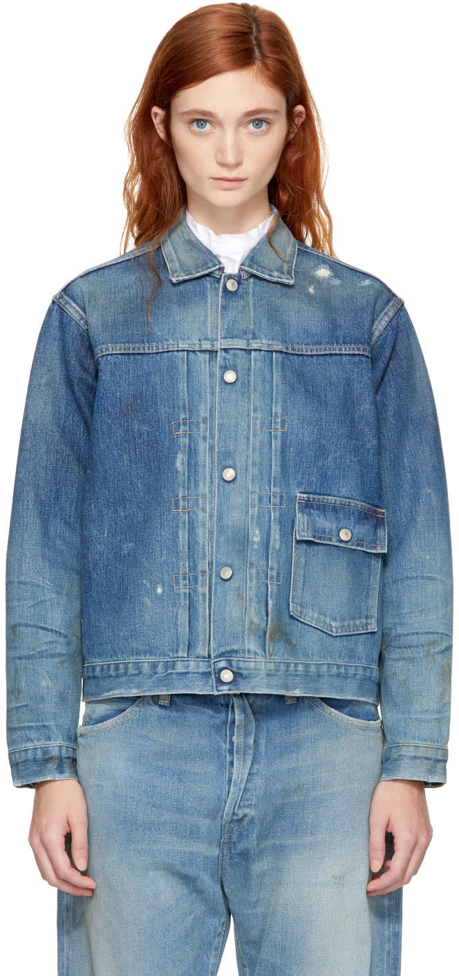 Image of Chimala Indigo Selvedge Denim Jacket