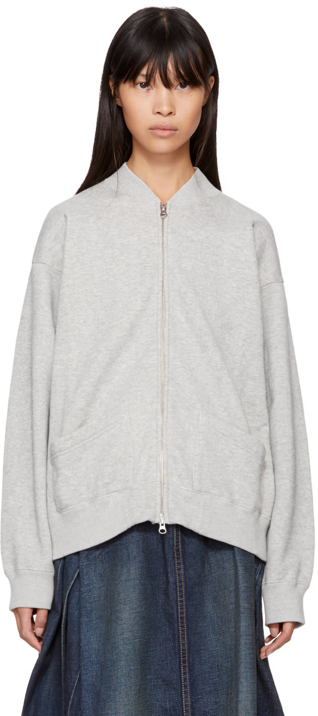 Image of Chimala Grey Zip Sweater