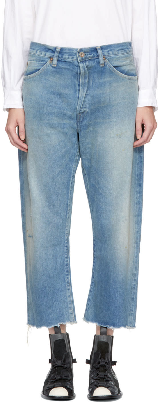 Image of Chimala Indigo Selvedge Vintage Baggy Cut Jeans