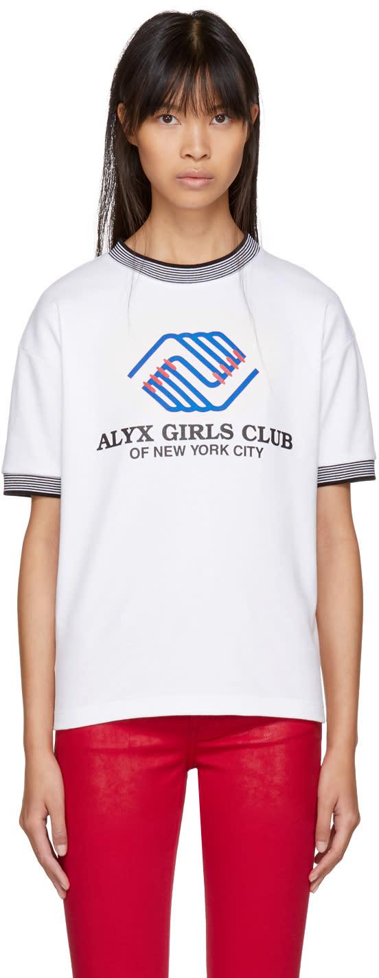 Image of Alyx White alyx Girls Club Sport T-shirt
