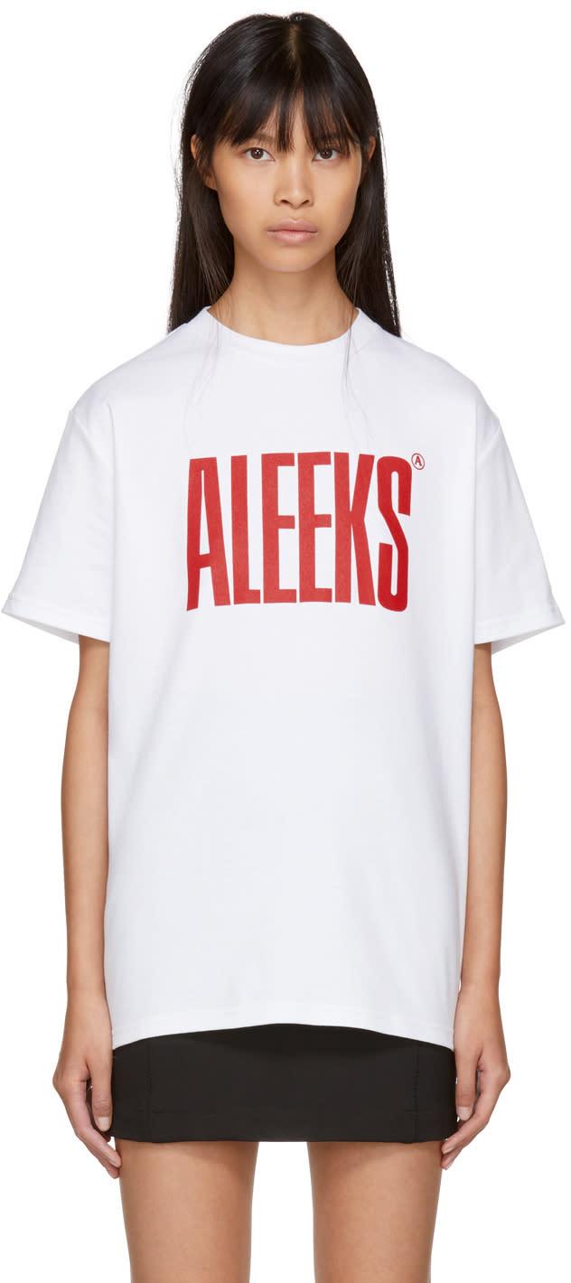Image of Alyx White aleeks T-shirt
