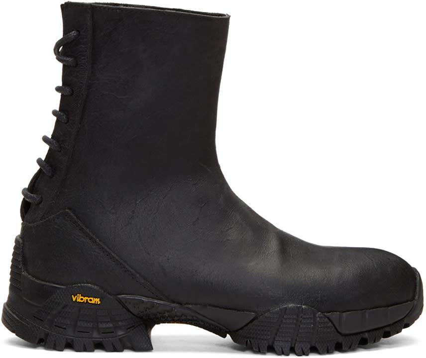 Alyx Black Cut Back Hiking Boots