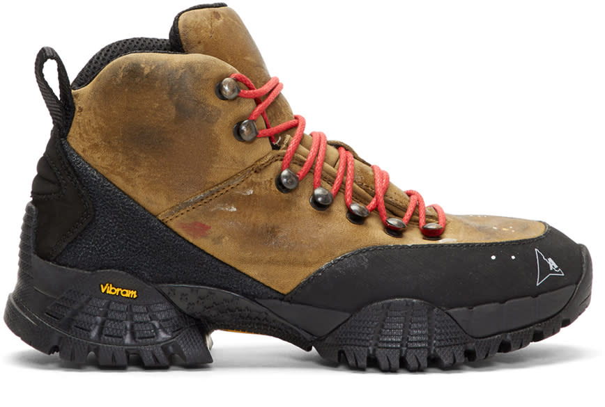 Alyx Brown Washed Hiking Boots