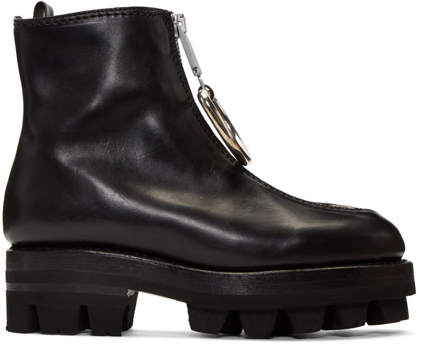 Image of Alyx Black D-ring Tank Boots