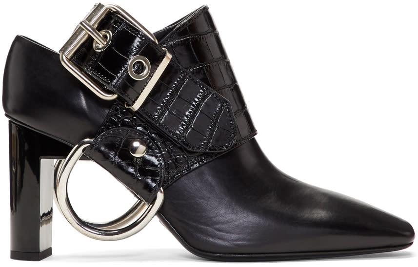 Image of Alyx Black Sling Heels