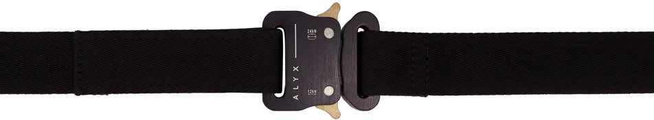 Image of Alyx Black Utility Waist Belt