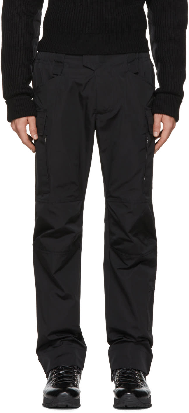 Image of Alyx Black Cargo Trousers