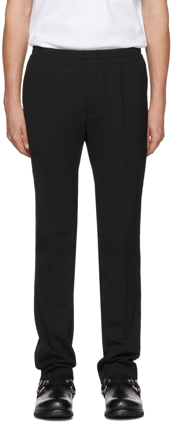 Image of Alyx Black Elastic Waist Trousers