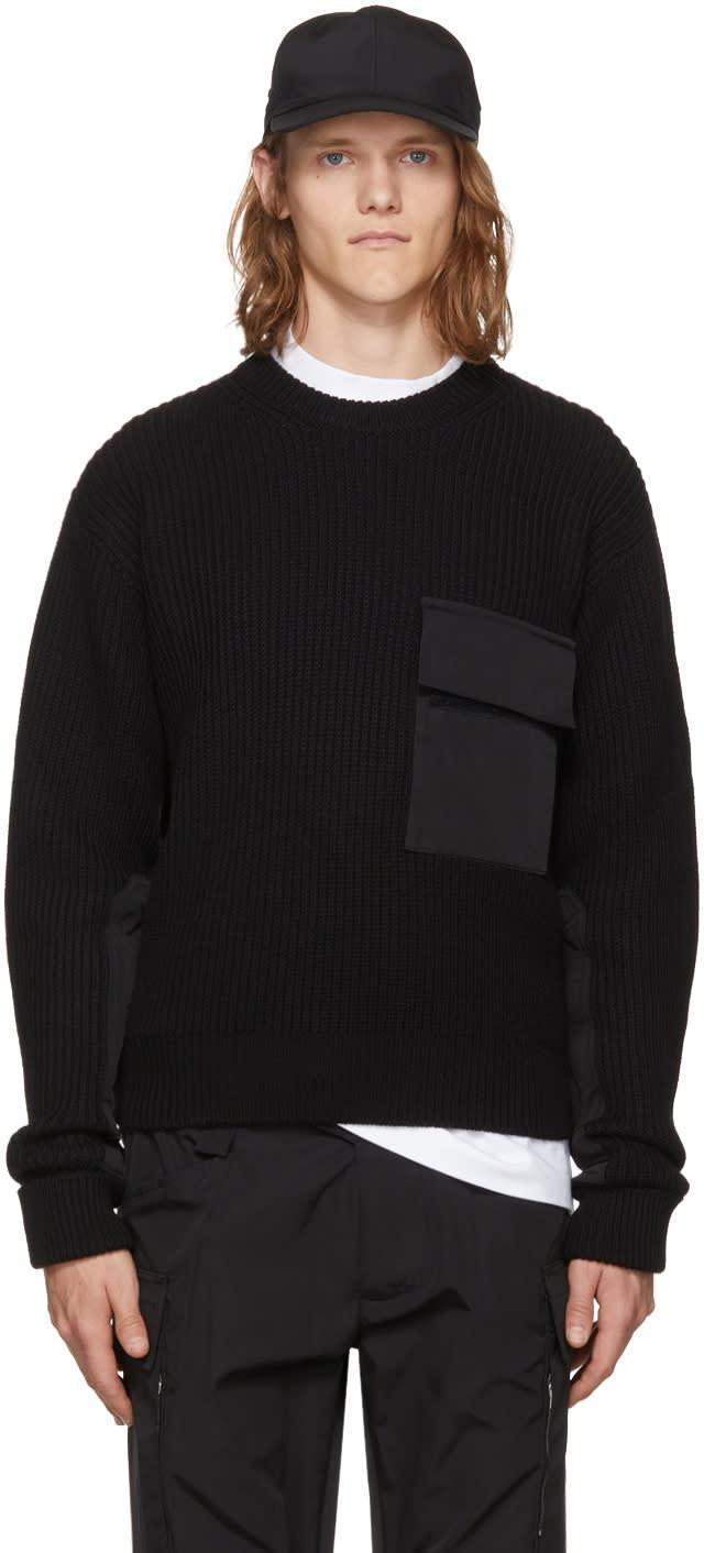 Image of Alyx Black Army Crewneck Sweater