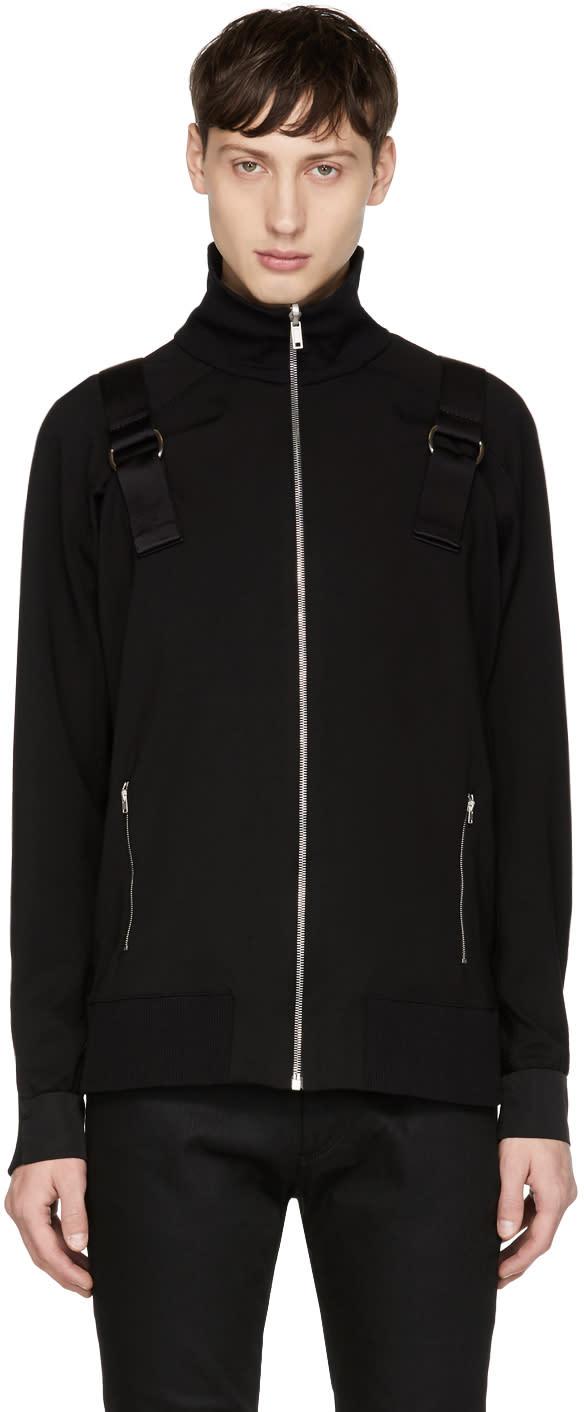 Image of Alyx Black Backpack Track Jacket