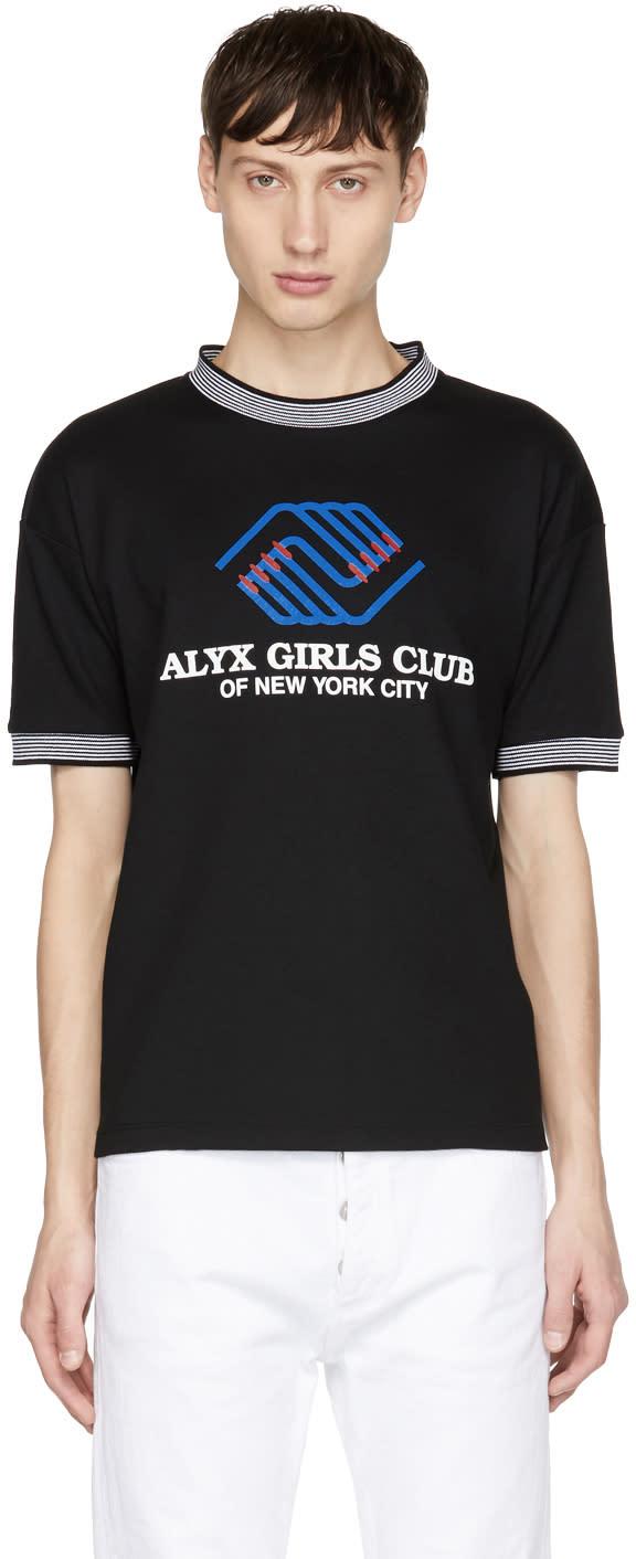 Image of Alyx Black girls Club Sport T-shirt