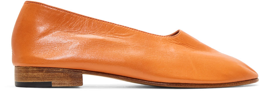 Image of Martiniano Orange Glove Slippers