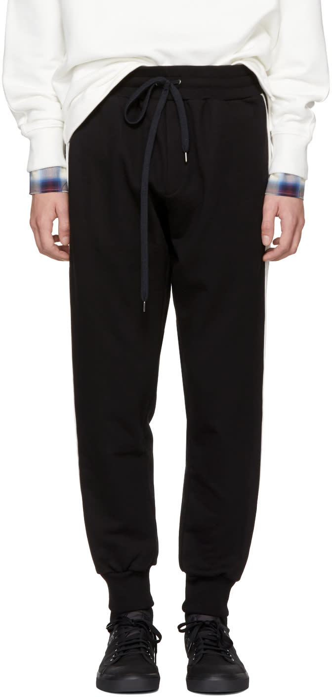 Image of Ports 1961 Black Jogging Lounge Pants