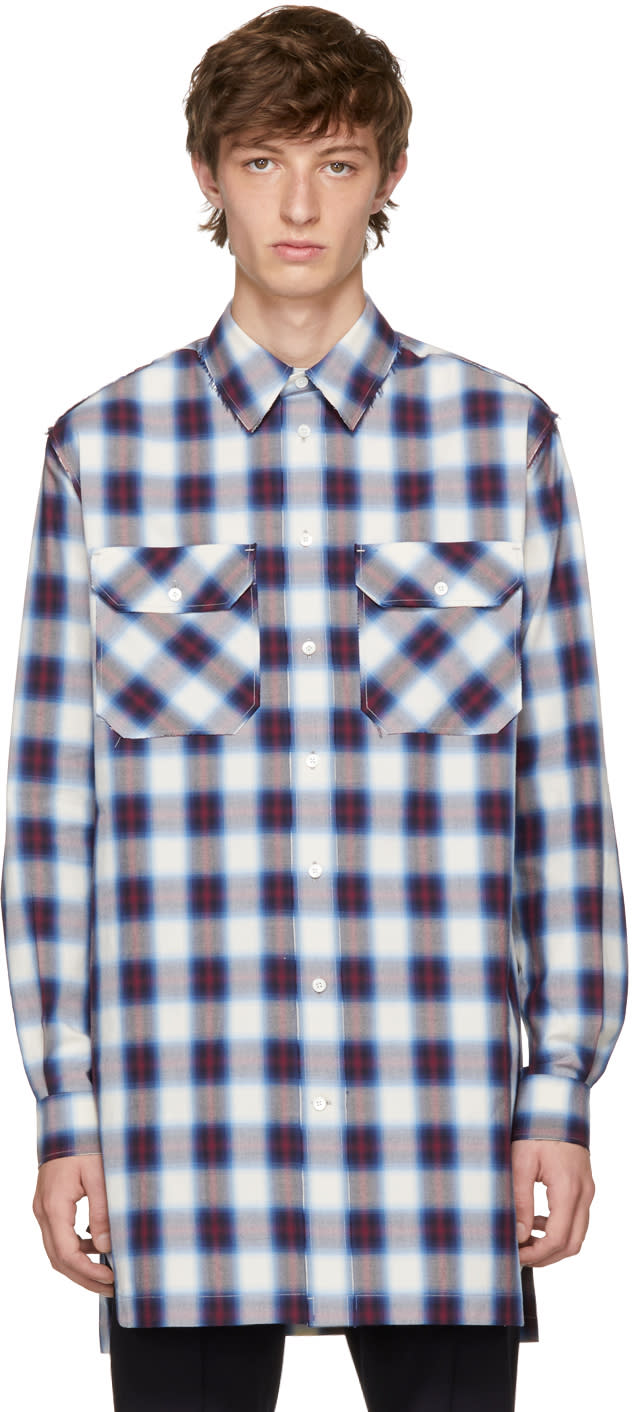 Image of Ports 1961 Multicolor Check Casual Over Shirt