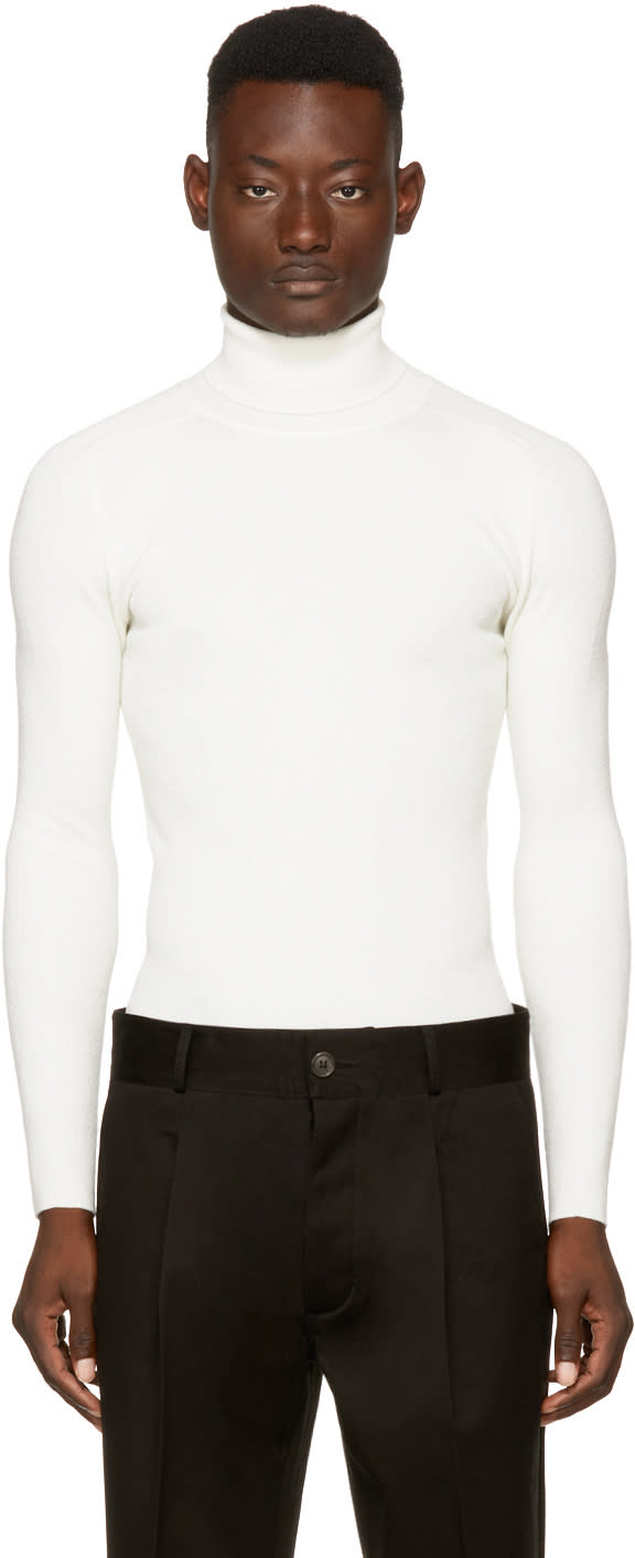 Image of Ports 1961 Off-white Wool Turtleneck