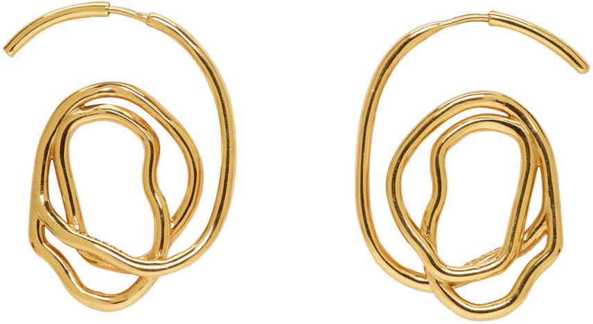 Image of Ellery Gold Memphis Earrings