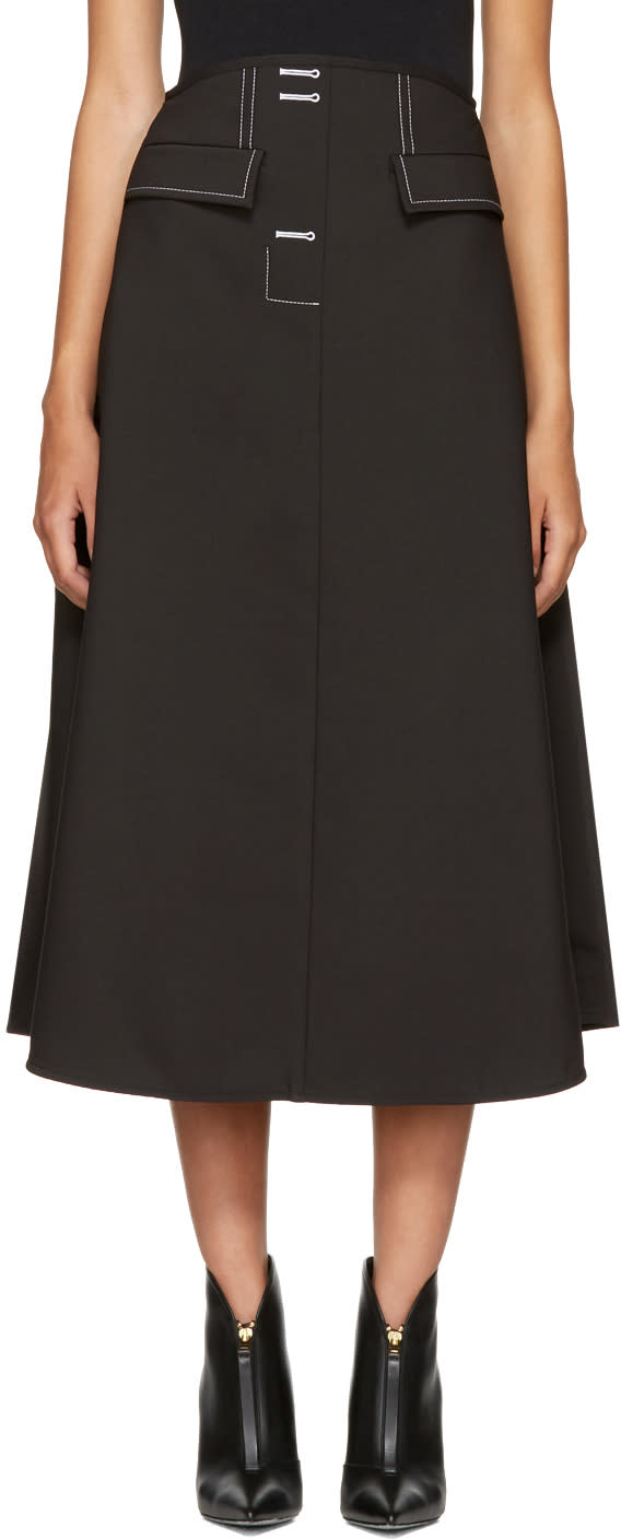 Ellery Black Eunice Skirt