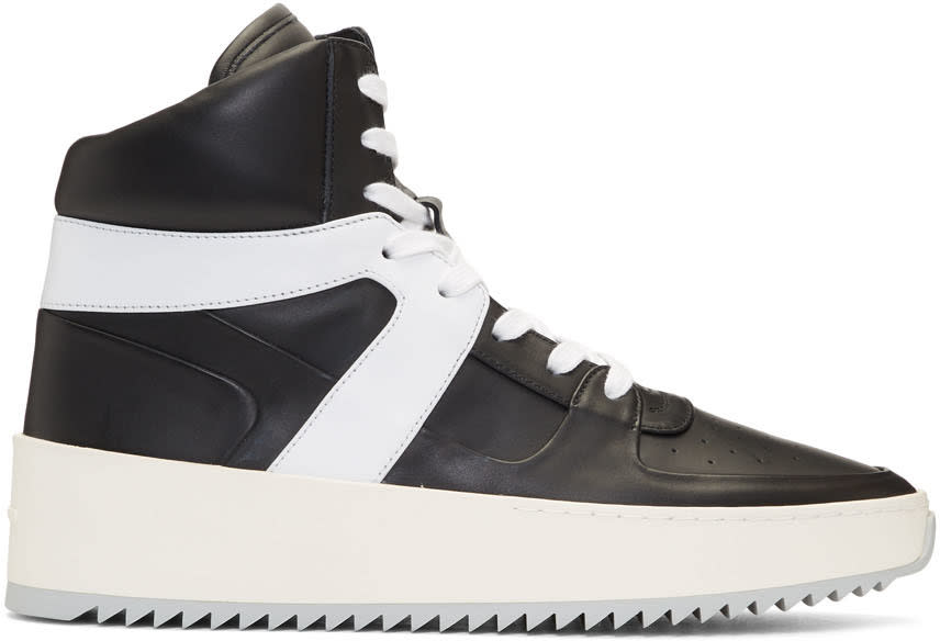 Fear Of God Black and White Basketball Sneakers