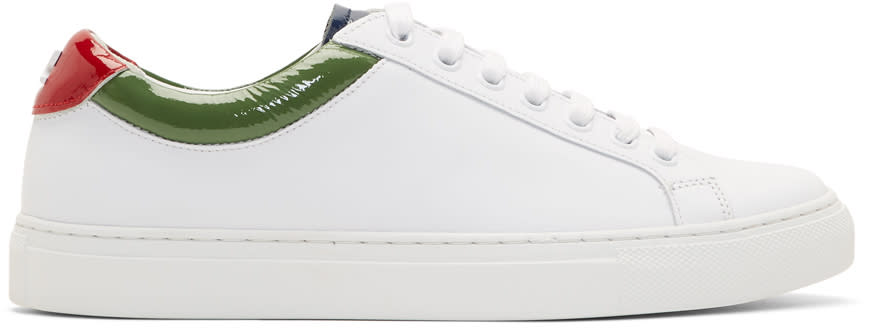 Image of Courrèges White Classic Sneakers